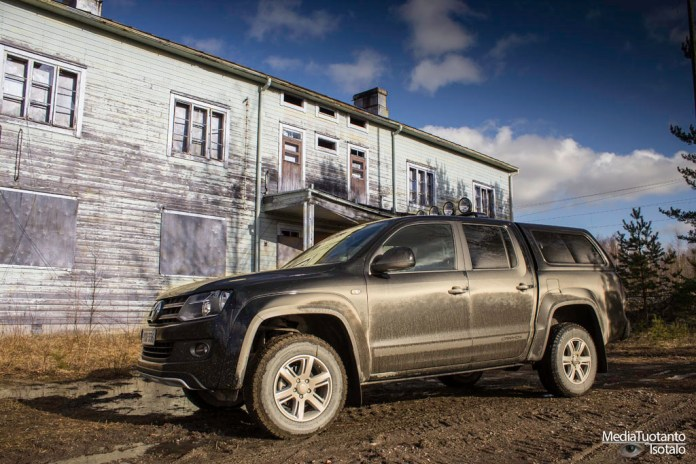 One-day road trip on southwestern Finland with Amarok
