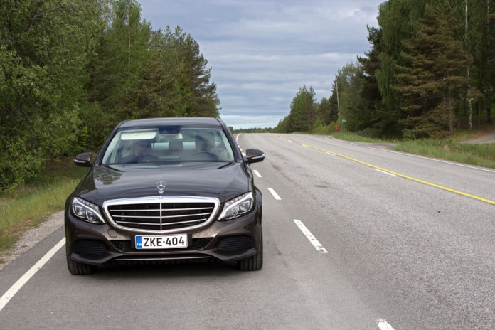Road trip in Southern Finland with Mercedes-Benz C200