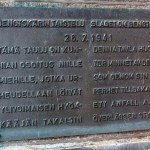 Bengtskärin muistotaulu