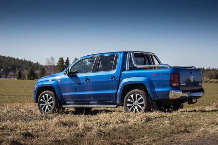 Volkswagen Amarok as a road trip vehicle