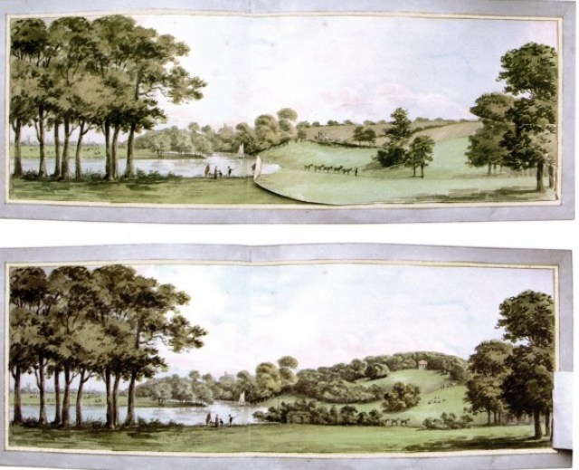 Repton before & after
