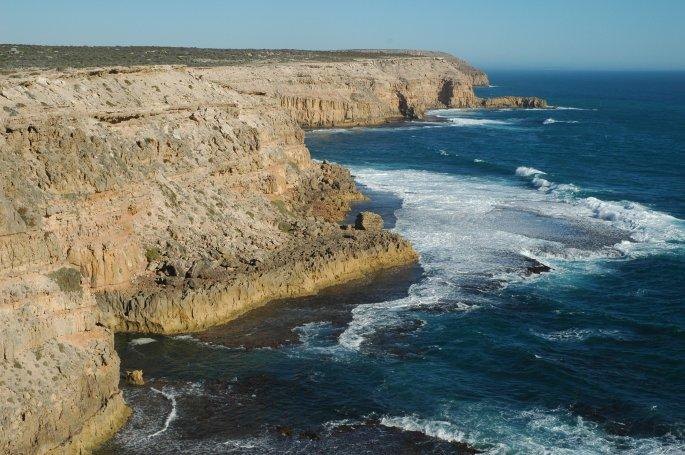 Eyre Pen cliffs