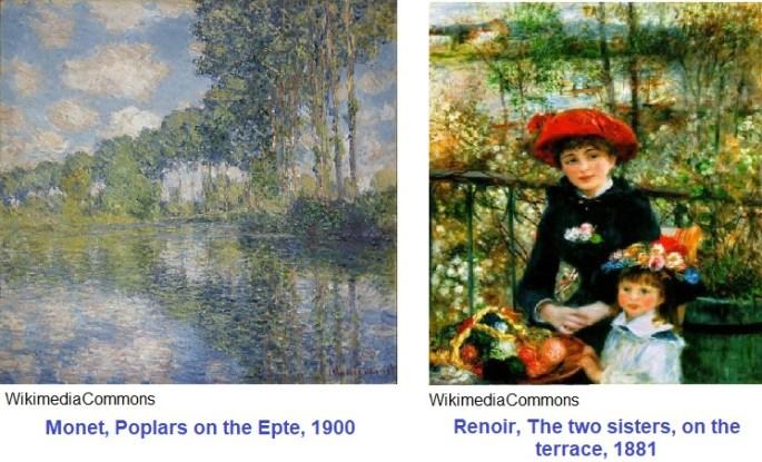 Monet Renoir