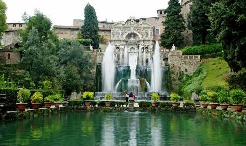 Villa d' Este, TivoliCPS