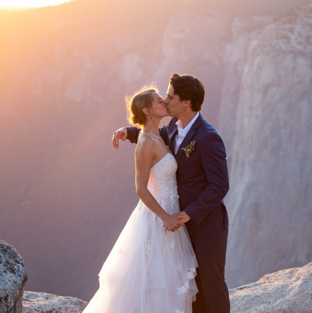 Newlyweds Shevawn & Kevan reflecting on their Tahoe adventure elopement.