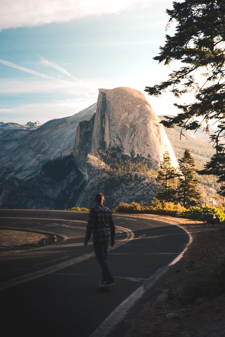 Awesome Glacier Point location for a Yosemite Elopement