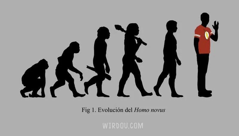 big bang theory, sheldon cooper, evolución, ciencia, gracioso, divertido, evolución del hombre, darwin
