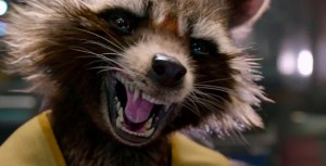 Rocket Raccoon may be proactive and in your face, but is no Poochy