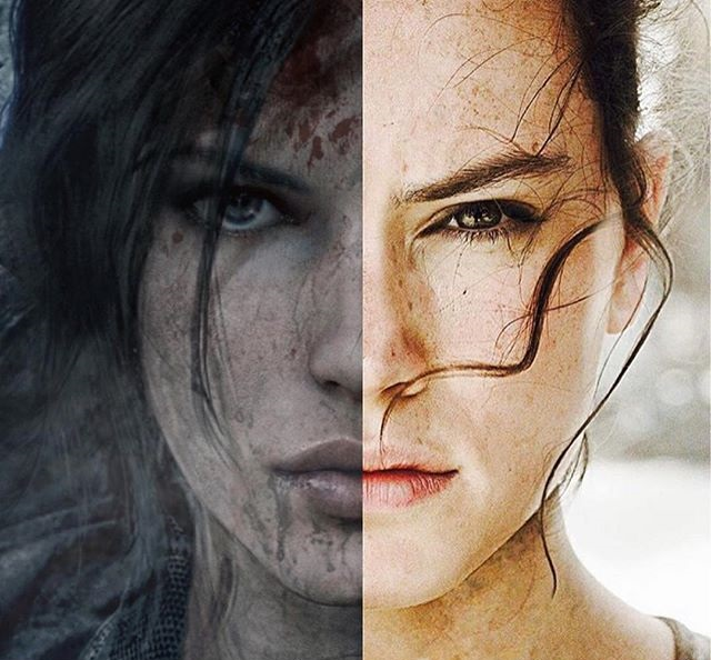 Daisy Ridley as Lara Croft?