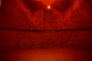 Interior of the old cistern with Making The Body Think scent installation