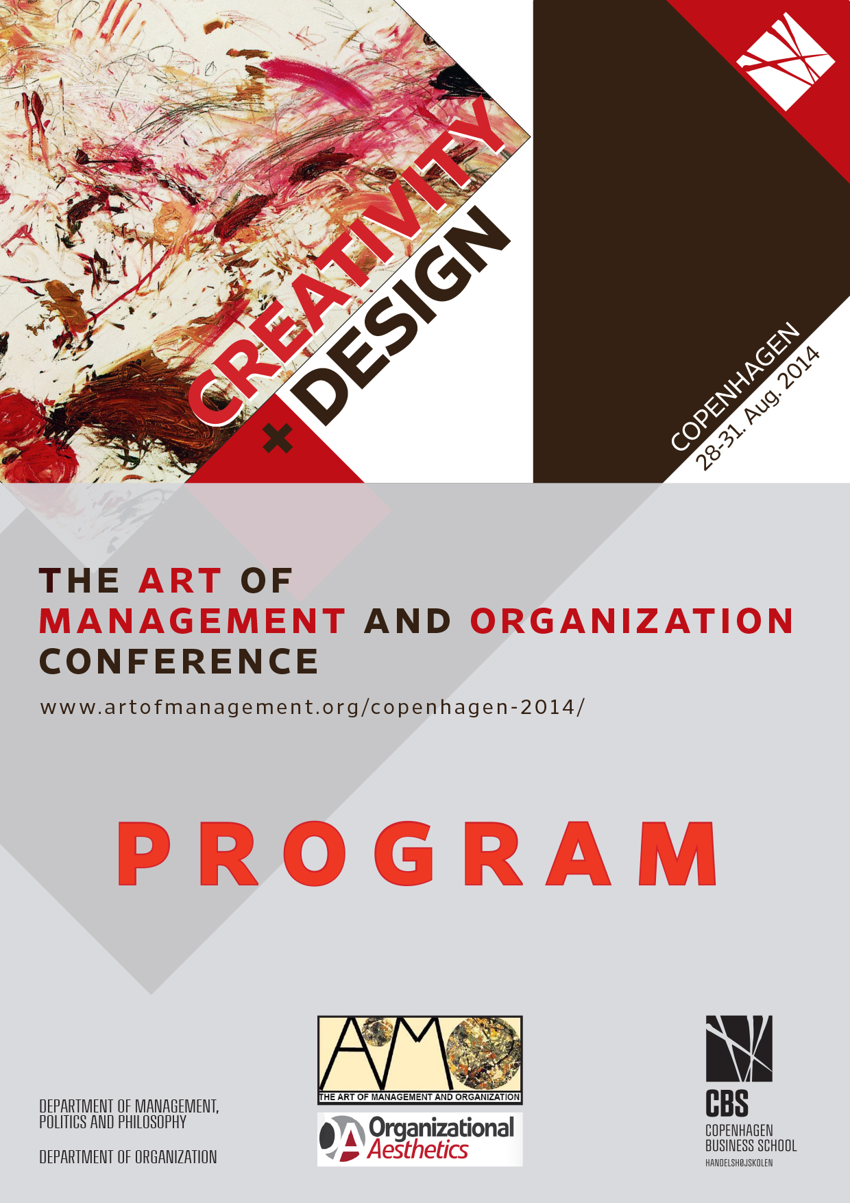Art of Management and Organization Conference – Copenhagen 2014