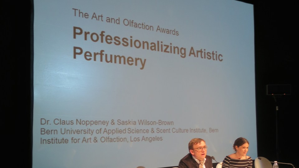 The Art and Olfaction Awards: Professionalizing Artistic Perfumery