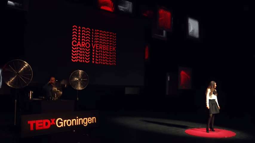 """Inhaling history & smelling the future"" by Caro Verbeek at TEDxGroningen"