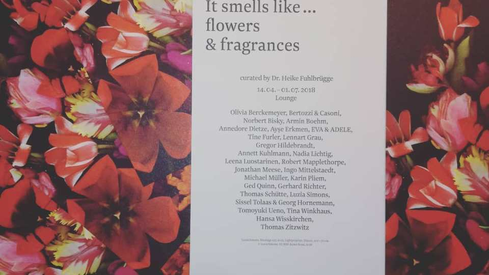 "Exhibition in Berlin: ""It smells like… flowers & fragrances"""