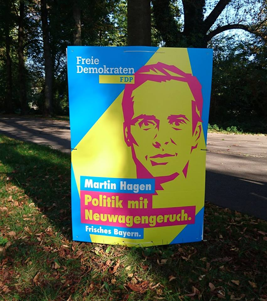 Wo bleibt der Duft? A new whiff of politics?