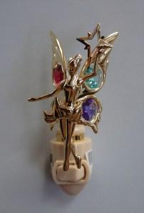 Gold Fairy Night Light