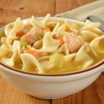Chicken Noodle Soup For A Cold, how to get rid of a cold fast, congestion