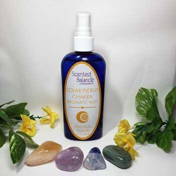 Solar Plexus Chakra Aromatic Mist, cleanse and balance your solar plexus chakra