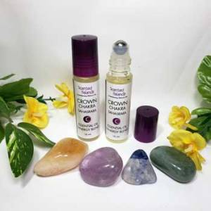 Crown Chakra Rollerball, connection to the divine, balance the crown chakra