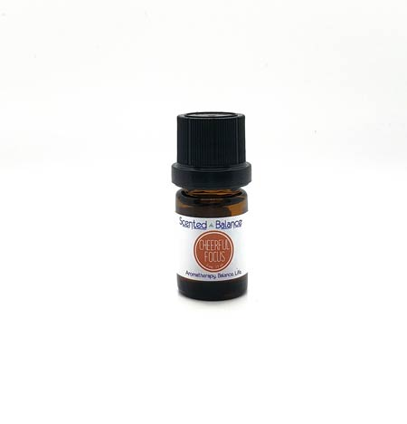 Cheerful Focus Synergy Blend, Essential Oils for Focus, Feel More Alert