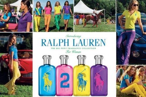 RALPH LAUREN Big Pony 4 Women Ads
