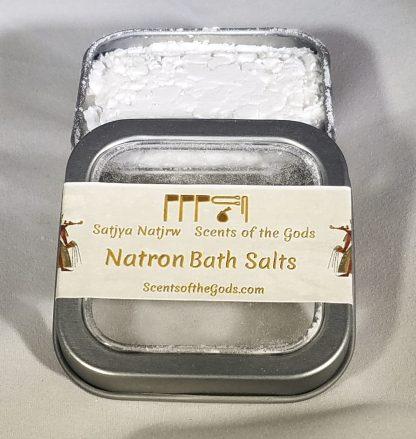 Natron Bath Salts 2oz Displayed