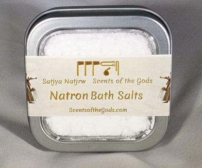 Natron Bath Salts 2oz Front