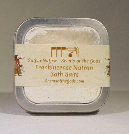 Frankincense Natron Bath Salts 2oz Top