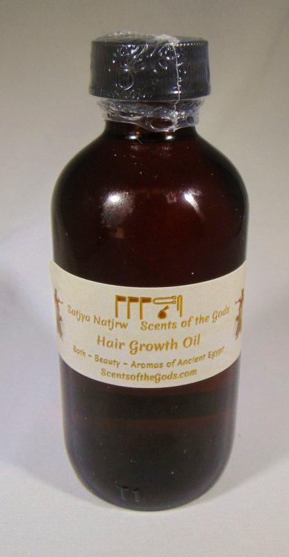 Hair Growth Oil 4oz Front