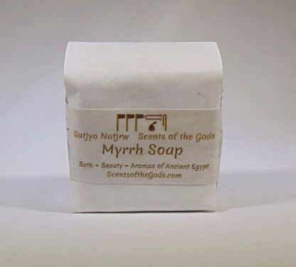 Myrrh Soap 2 oz Bar Front