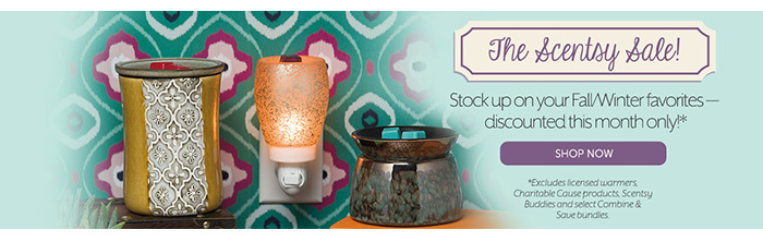 Scentsy 10% Off Sale: February 2016