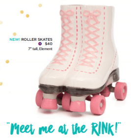 new scentsy roller skates warmer