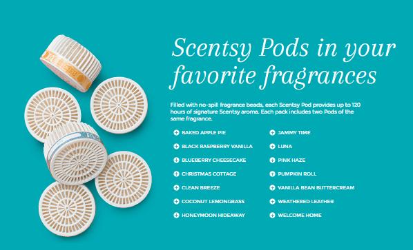 scentsy go fragrance pods
