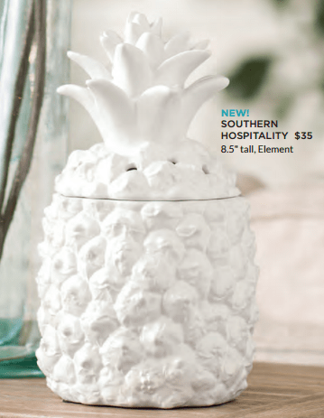 Scentsy pineapple warmer 2017