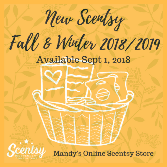 New Scentsy Fall & Winter Catalog 2018 2019