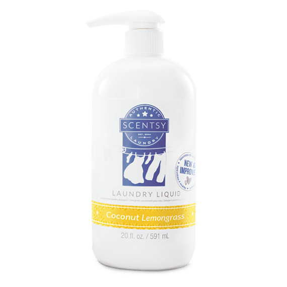 Scentsy Coconut Lemongrass Laundry Liquid