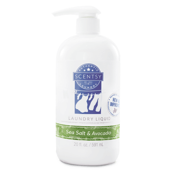 Scentsy Sea Salt Avocado Laundry Liquid