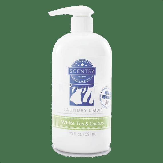 Scentsy White Tea Cactus Laundry Liquid