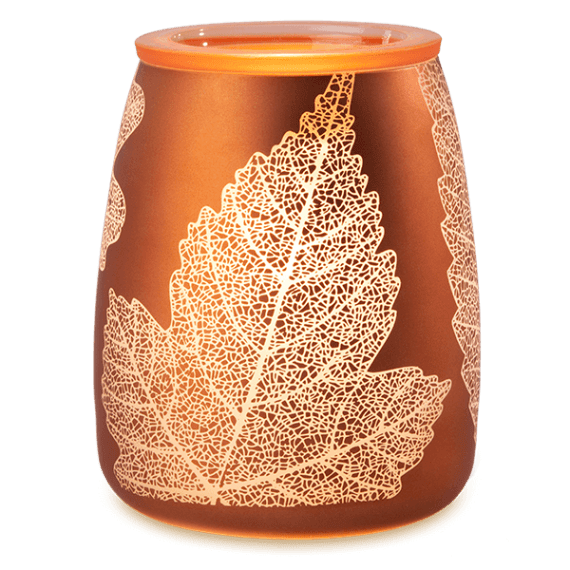 gold leaf scentsy warmer