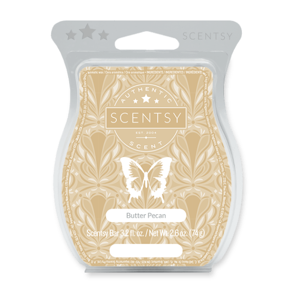 scentsy butter pecan wax bar