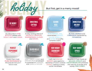 New Scentsy Fall Winter 2019 Holiday