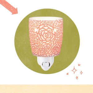 New Scentsy Fall Winter 2019 Rose Mini Warmer
