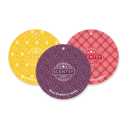 3 pack scentsy scent circles