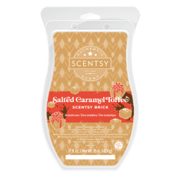 Salted Caramel Toffee Scentsy Brick 2020