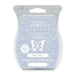 best in snow scentsy wax bar