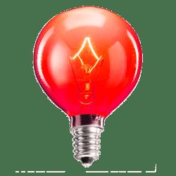 25 Watt Red Scentsy Bulb