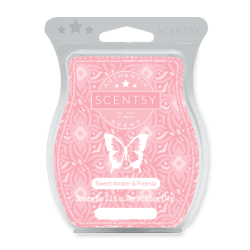Sweet Amber Freesia Scentsy BBMB 2020