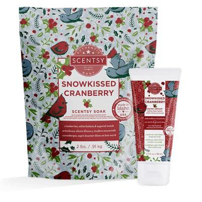 Snowkissed Cranberry Scentsy Body Bundle