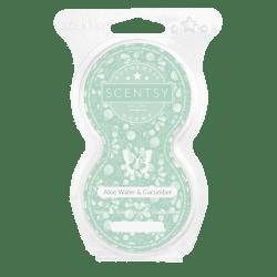 aloe water cucumber scentsy pod