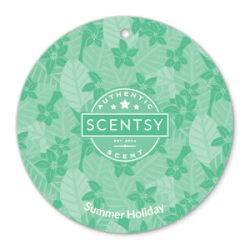 summer holiday scentsy scent circle